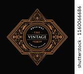 vintage frame border western...   Shutterstock .eps vector #1160066686