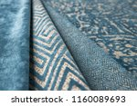 cloth in the layout  material... | Shutterstock . vector #1160089693