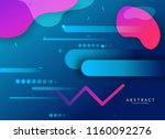 modern style vector abstraction ... | Shutterstock .eps vector #1160092276