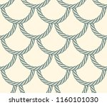 seamless scales made of rope ...   Shutterstock .eps vector #1160101030