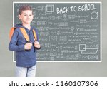 education and back to school...   Shutterstock . vector #1160107306