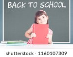 back to school concept with...   Shutterstock . vector #1160107309