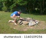 halifax  pa  usa   7 5 2010  a... | Shutterstock . vector #1160109256