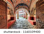 beautiful view of the entrance... | Shutterstock . vector #1160109400