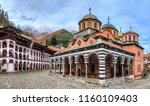 beautiful view of the orthodox... | Shutterstock . vector #1160109403