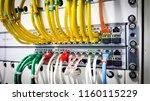 information technology computer ... | Shutterstock . vector #1160115229