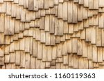 Wooden Surface In Waves Form....