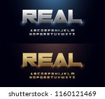 elegant silver and golden... | Shutterstock .eps vector #1160121469