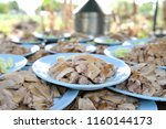 a stack of dish of duck stew in ...   Shutterstock . vector #1160144173