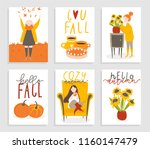 set of 6 cute ready to use gift ...   Shutterstock .eps vector #1160147479