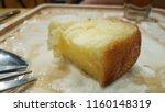 honey toast on wooden dish | Shutterstock . vector #1160148319