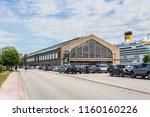 cherbourg octeville  france  ... | Shutterstock . vector #1160160226