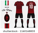 soccer jersey or football kit... | Shutterstock .eps vector #1160168833