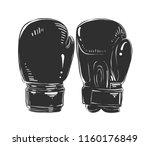 engraved style illustration for ... | Shutterstock . vector #1160176849