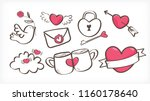 cute love pink vector design