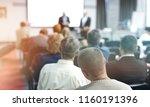 people on the conference room | Shutterstock . vector #1160191396