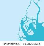 tokyo bay area map | Shutterstock .eps vector #1160202616