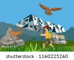 extreme sport  extreme eco... | Shutterstock .eps vector #1160225260