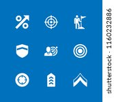 arrow icon. 9 arrow set with...   Shutterstock .eps vector #1160232886