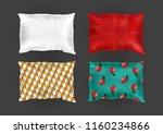 vector 3d realistic comfortable ... | Shutterstock .eps vector #1160234866