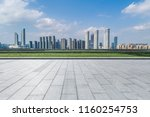 panoramic skyline and buildings ...   Shutterstock . vector #1160254753