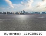 panoramic skyline and buildings ...   Shutterstock . vector #1160258110