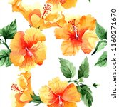 watercolor orange naranja... | Shutterstock . vector #1160271670