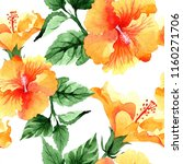 watercolor orange naranja... | Shutterstock . vector #1160271706