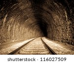 A Railway Tunnel In Siberia ...
