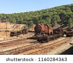 Railway With Real Rusty Mining...