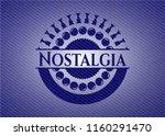nostalgia jean or denim emblem... | Shutterstock .eps vector #1160291470