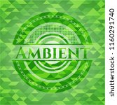 ambient realistic green mosaic... | Shutterstock .eps vector #1160291740