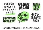 fresh healthy natural food ...   Shutterstock .eps vector #1160293066