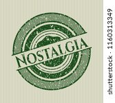 green nostalgia distressed with ... | Shutterstock .eps vector #1160313349
