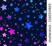 space galaxy constellation... | Shutterstock .eps vector #1160314843