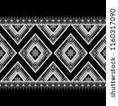 geometric ethnic pattern...   Shutterstock .eps vector #1160317090