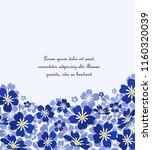 vector illustration blue... | Shutterstock .eps vector #1160320039