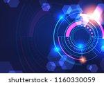 technology illustration ... | Shutterstock .eps vector #1160330059