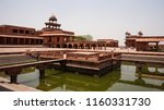 fatehpur sikri in may 2017 ... | Shutterstock . vector #1160331730