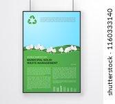 world habitat day poster... | Shutterstock .eps vector #1160333140