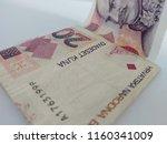 croatian money   kuna. | Shutterstock . vector #1160341009