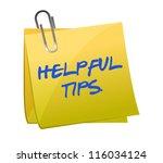Helpful Tips Post It...