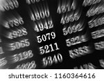 black background with many... | Shutterstock . vector #1160364616