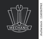auto mechanic service. mechanic ... | Shutterstock .eps vector #1160365963