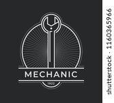 auto mechanic service. mechanic ... | Shutterstock .eps vector #1160365966
