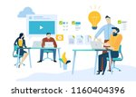 vector illustration concept of... | Shutterstock .eps vector #1160404396