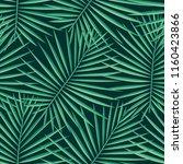 tropical pattern seamless...   Shutterstock .eps vector #1160423866