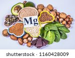 healthy food nutrition dieting... | Shutterstock . vector #1160428009