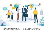 vector illustration concept of... | Shutterstock .eps vector #1160429449