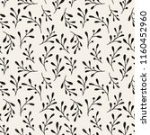 seamless pattern with hand... | Shutterstock .eps vector #1160452960
